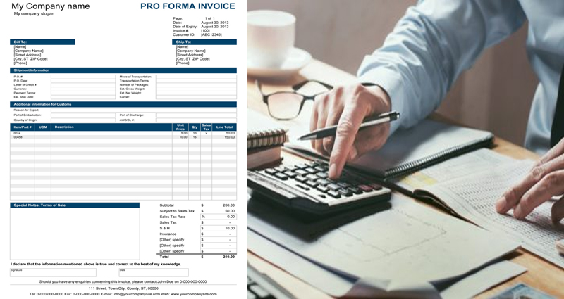 5 Benefits Of Using A Proforma Invoice
